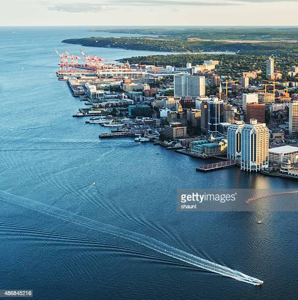 Halifax Skyline Aerial