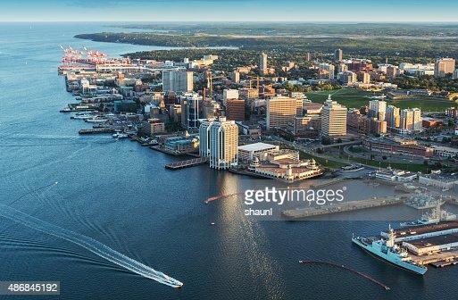 Halifax  Waterfront Aerial View