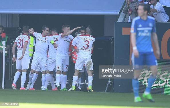 FC Augsburg v Hamburger SV - Bundesliga : News Photo