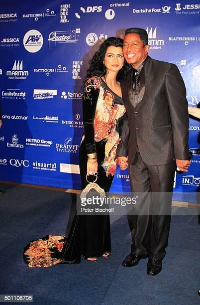 Halima Rashid Ehemann Jermain Jackson CharityVeranstaltung 17 'UnescoBenefizGala' 2009 Hotel 'Maritim' Düsseldorf NordrheinWestfalen Deutschland...