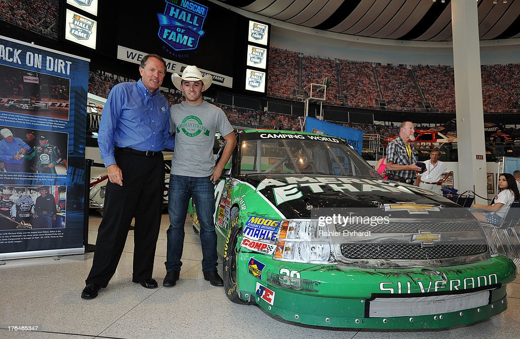 at the NASCAR Hall of Fame on August 13, 2013 in Charlotte, North ...