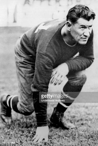 Hall of Fame football player and all around athlete Jim Thorpe 1925 He was of Native American descent