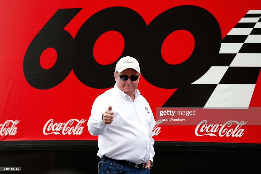 Hall of Fame inductee and team owner Richard Childress is introduced prior to the NASCAR Sprint Cup Series CocaCola 600 at Charlotte Motor Speedway...