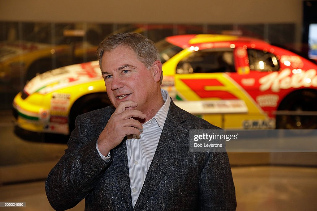 Hall of Fame inductee Terry Labonte talks about his championship career racing cars as he and close family members got a sneek peak at his display in...