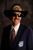 Hall of Fame member Richard Petty poses for a photo on January 20 2012 in Charlotte North Carolina