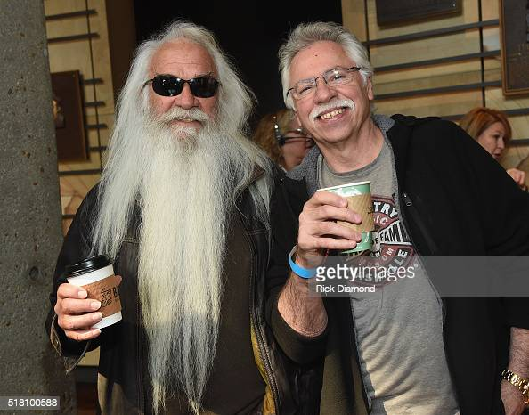 Hall of Fame members/Oak Ridge Boys William Lee Goldin and Joe Bonsall attend the CMA Presentation of The 2016 Country Music Hall Of Fame Inductees...