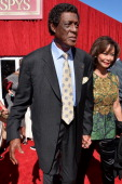 Hall of Fame NBA player Elgin Baylor attends The 2013 ESPY Awards at Nokia Theatre LA Live on July 17 2013 in Los Angeles California