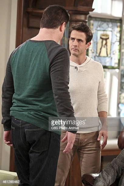 'Hall of Fame' Pictured Jimmy Dunn as Sean and Joey McIntyre as Gerald Marjorie tries to protect Gerard from getting his feelings hurt by leading him...