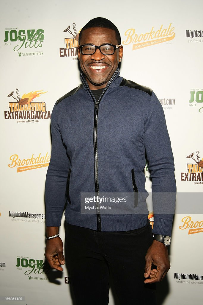 Hall of Fame Player Michael Irvin attends the 2014 Jocks And Jills Party at Greenhouse on January 31, 2014 in New York City.