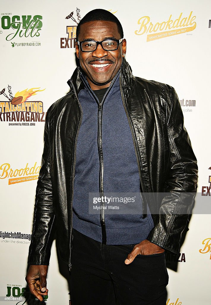 Hall of Fame Player <a gi-track='captionPersonalityLinkClicked' href=/galleries/search?phrase=Michael+Irvin&family=editorial&specificpeople=218074 ng-click='$event.stopPropagation()'>Michael Irvin</a> attends the 2014 Jocks And Jills Party at Greenhouse on January 31, 2014 in New York City.