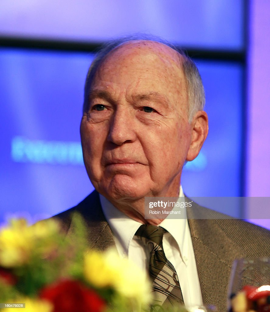 Hall of Fame Quarterback <a gi-track='captionPersonalityLinkClicked' href=/galleries/search?phrase=Bart+Starr&family=editorial&specificpeople=640891 ng-click='$event.stopPropagation()'>Bart Starr</a> attends the 2013 Super Bowl Breakfast at the Hyatt Regency New Orleans on February 1, 2013 in New Orleans, Louisiana.