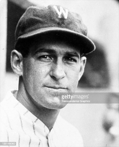 Hall of Fame second baseman for the Senators poses for a closeup portrait in Washington DC around 1928