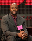 Hall of Fame wide receiver Jerry Rice attends the ESPN Winter 2011 TCA Panel at the Langham Hotel on January 5 2011 in Pasadena California