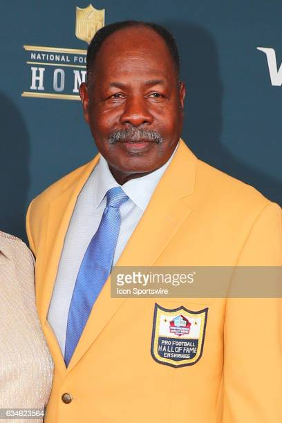 Hall of Famer Emmitt Thomas on the Red Carpet at the 2017 NFL Honors on February 04 at the Wortham Theater Center in Houston Texas
