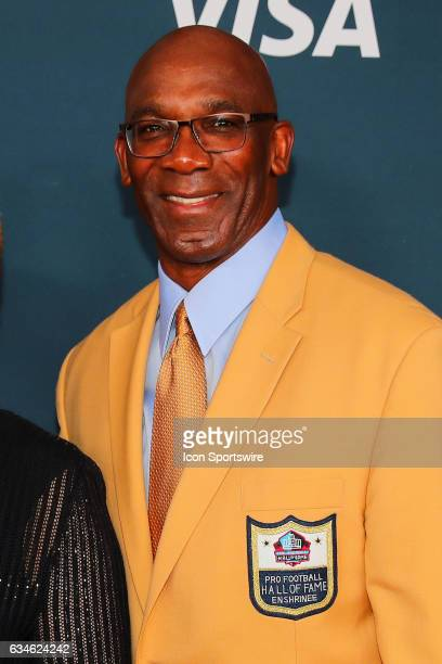 Hall of Famer John Stallworth on the Red Carpet at the 2017 NFL Honors on February 04 at the Wortham Theater Center in Houston Texas