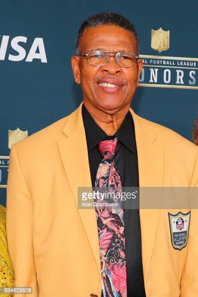 Hall of Famer Ken Houston on the Red Carpet at the 2017 NFL Honors on February 04 at the Wortham Theater Center in Houston Texas