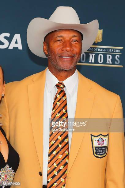 Hall of Famer Mel Blount on the Red Carpet at the 2017 NFL Honors on February 04 at the Wortham Theater Center in Houston Texas