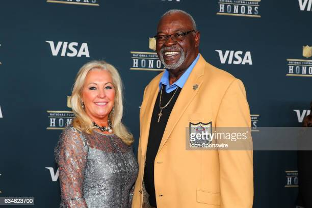 Hall of Famer Rayfield Wright on the Red Carpet at the 2017 NFL Honors on February 04 at the Wortham Theater Center in Houston Texas