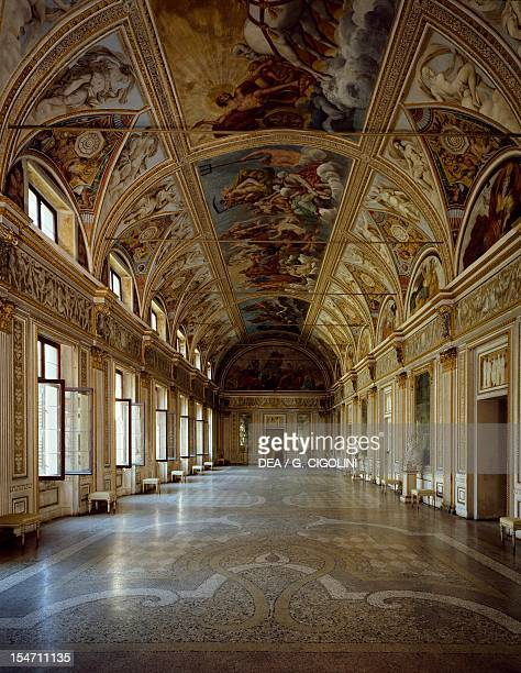 Hall of Mirrors Ducal Palace Mantua Italy 13th16th century