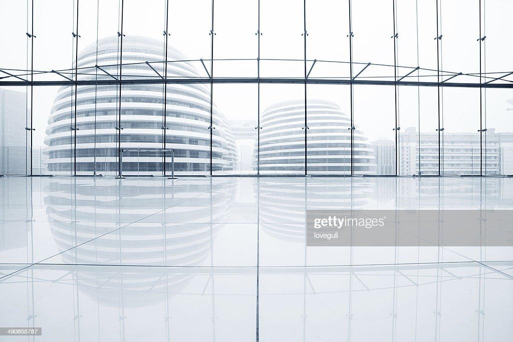 Halle eines modernen Büros : Stock-Foto