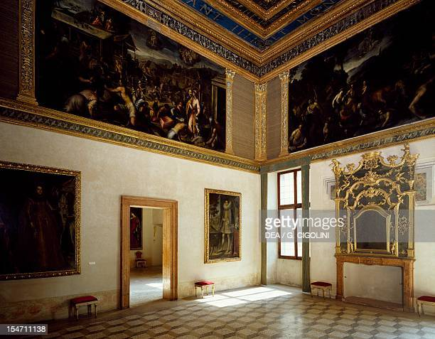 Hall of the Labyrinth Ducal Palace Mantua Italy 13th16th century