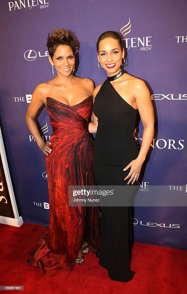 <a gi-track='captionPersonalityLinkClicked' href=/galleries/search?phrase=Halle+Berry&family=editorial&specificpeople=201726 ng-click='$event.stopPropagation()'>Halle Berry</a> and <a gi-track='captionPersonalityLinkClicked' href=/galleries/search?phrase=Alicia+Keys&family=editorial&specificpeople=169877 ng-click='$event.stopPropagation()'>Alicia Keys</a> attend BET Honors 2013 at Warner Theatre on January 12, 2013 in Washington, DC.
