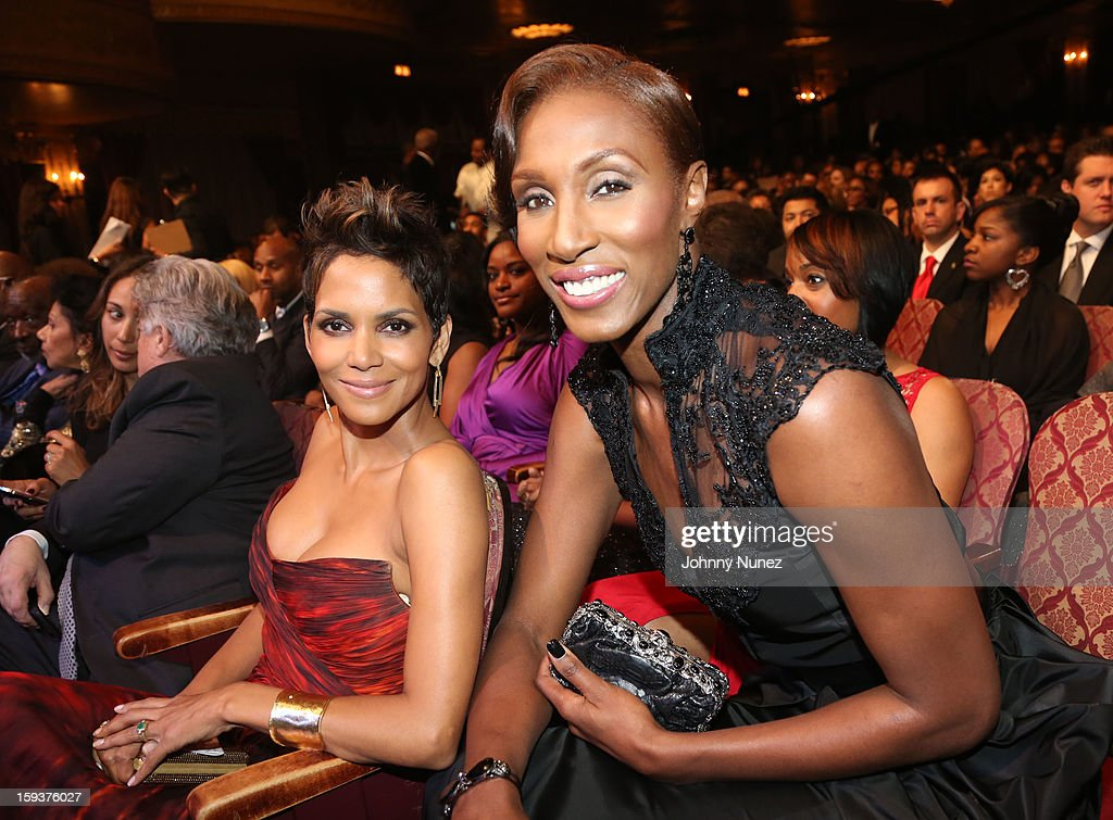 <a gi-track='captionPersonalityLinkClicked' href=/galleries/search?phrase=Halle+Berry&family=editorial&specificpeople=201726 ng-click='$event.stopPropagation()'>Halle Berry</a> and <a gi-track='captionPersonalityLinkClicked' href=/galleries/search?phrase=Lisa+Leslie&family=editorial&specificpeople=202228 ng-click='$event.stopPropagation()'>Lisa Leslie</a> attend BET Honors 2013 at Warner Theatre on January 12, 2013 in Washington, DC.