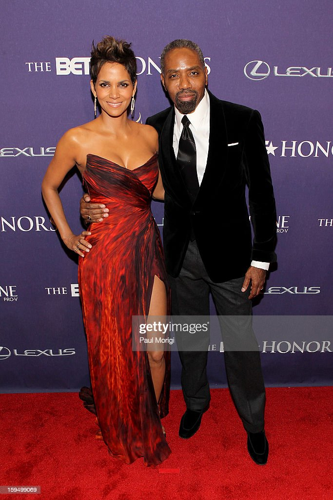 Halle Berry and Louis Carr attend BET Honors 2013: Red Carpet Presented By Pantene at Warner Theatre on January 12, 2013 in Washington, DC.