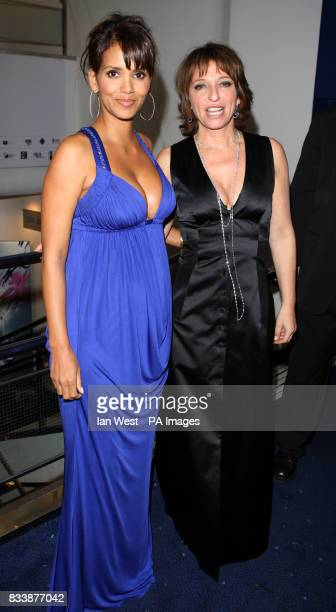 Halle Berry and Susanne Bier arriving at the premiere of Things We Lost in the Fire Odeon West End Leicester Square London Part of the London Film...