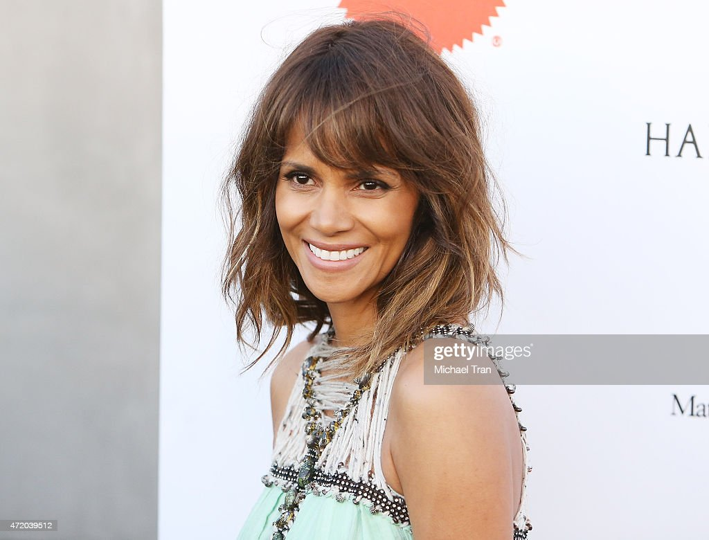 Halle Berry arrives at the Mattel Children's Hospital UCLA Kaleidoscope Ball held at 3LABS on May 2 2015 in Culver City California