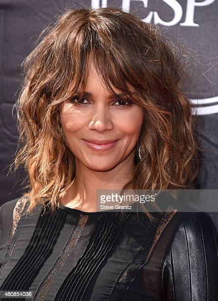 Halle Berry arrives at the The 2015 ESPYS at Microsoft Theater on July 15 2015 in Los Angeles California