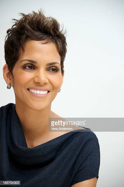 Halle Berry at 'The Call' Press Conference at the Four Seasons Hotel on March 13 2013 in Beverly Hills California