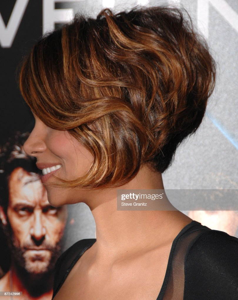 Halle Berry at the Grauman's Mann Chinese Theater on April 28, 2009 in Hollywood, California.
