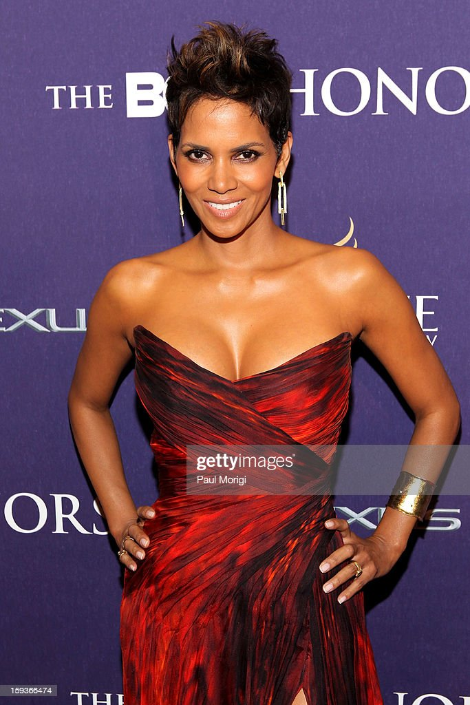 Halle Berry attends BET Honors 2013 Red Carpet Presented By Pantene at Warner Theatre on January 12 2013 in Washington DC