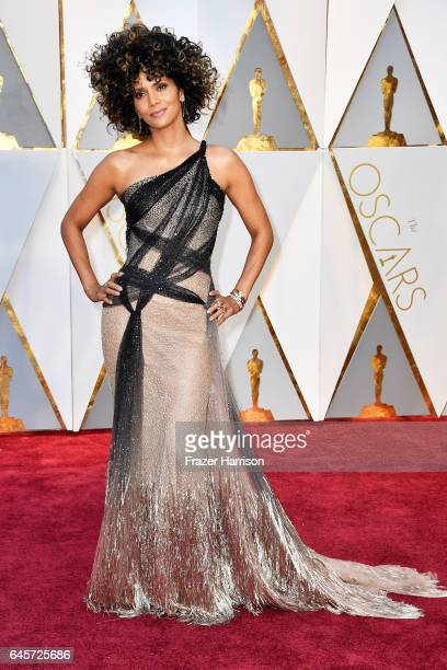 Halle Berry attends the 89th Annual Academy Awards at Hollywood Highland Center on February 26 2017 in Hollywood California