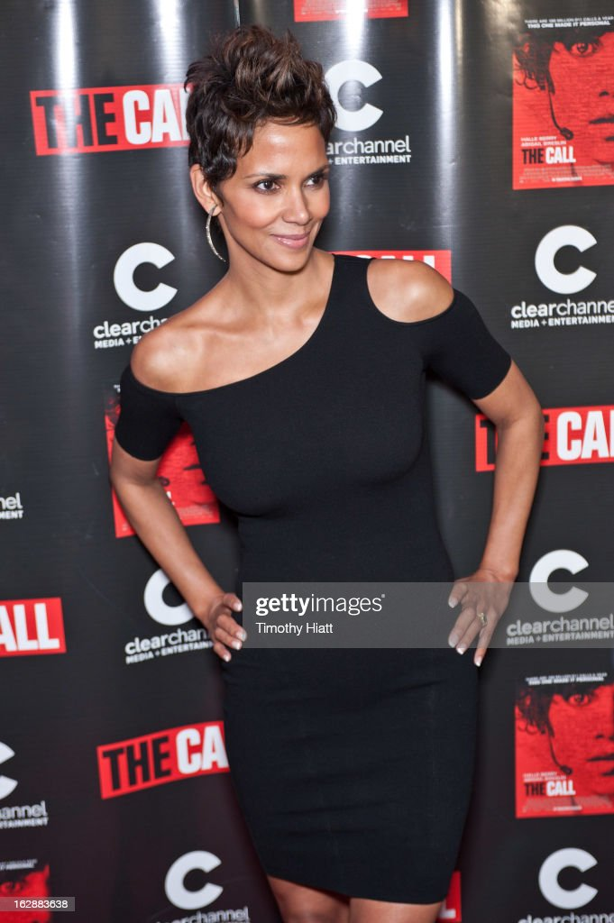 <a gi-track='captionPersonalityLinkClicked' href=/galleries/search?phrase=Halle+Berry&family=editorial&specificpeople=201726 ng-click='$event.stopPropagation()'>Halle Berry</a> attends 'The Call' premiere at Showplace Icon Theater on February 28, 2013 in Chicago, Illinois.