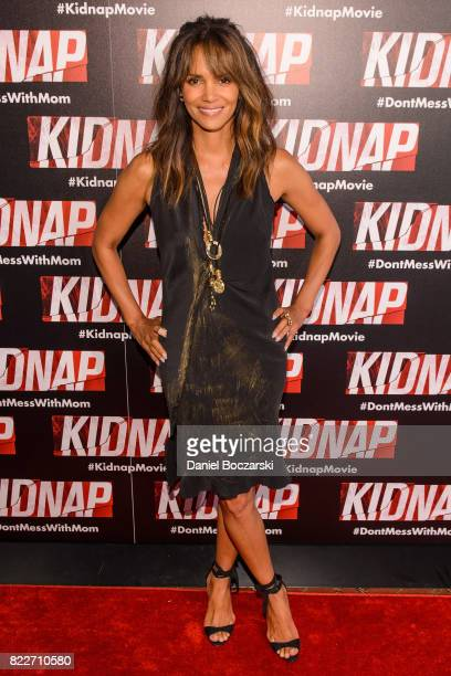 Halle Berry attends the 'Kidnap' Chicago premiere at Kerasotes Showplace ICON on July 25 2017 in Chicago Illinois
