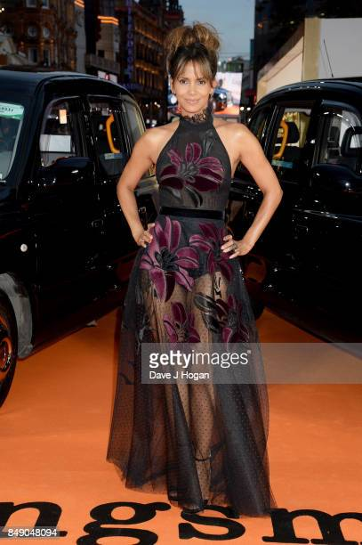 Halle Berry attends the 'Kingsman The Golden Circle' World Premiere held at Odeon Leicester Square on September 18 2017 in London England