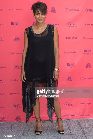 Halle Berry attends the 'Toiles Enchantees' Red Carpet As Part of The Champs Elysees Film Festival 2013 at Publicis Champs Elysees on June 13 2013 in...