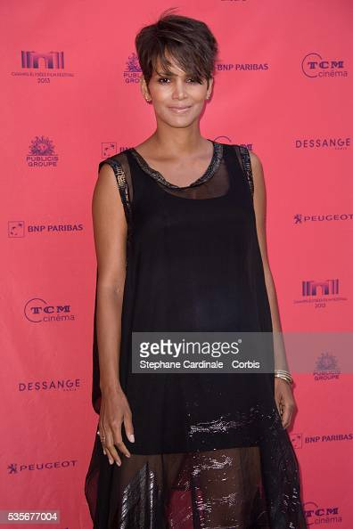 Halle Berry attends the 'Toiles Enchantees' Red Carpet as part of the Champs Elysees Film Festival 2013 at Publicis Champs Elysees in Paris