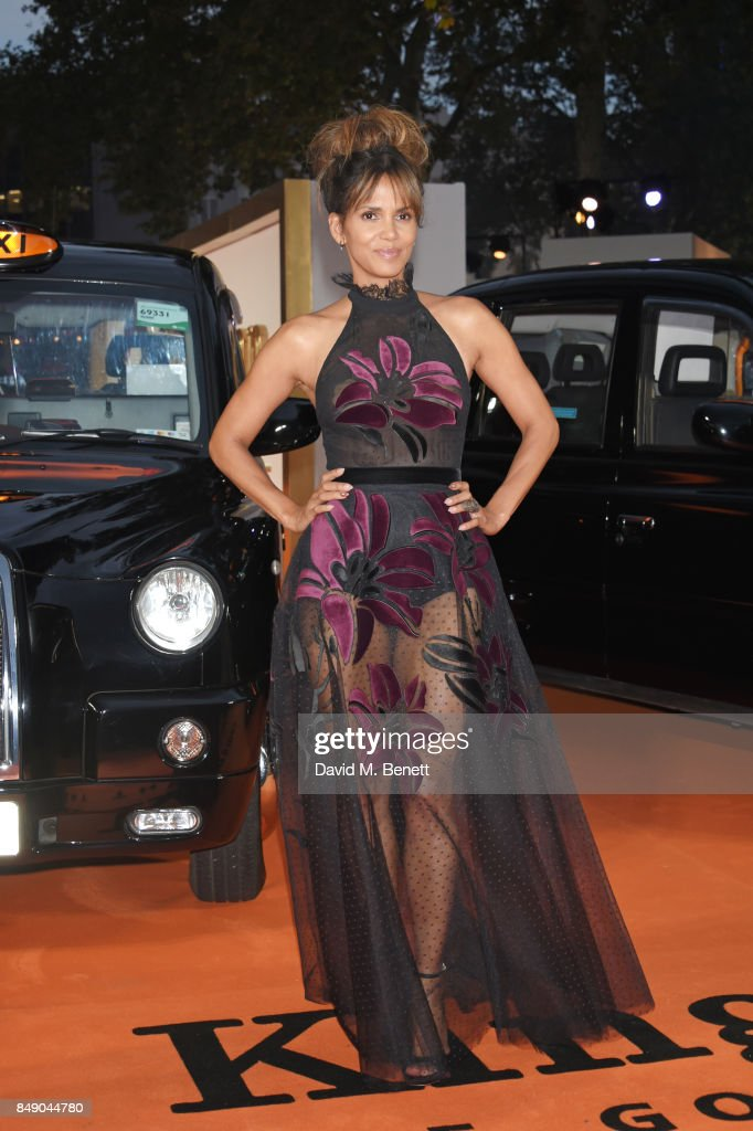 Halle Berry attends the World Premiere of 'Kingsman: The Golden Circle' at Odeon Leicester Square on September 18, 2017 in London, England.