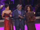 Halle Berry Clarence Avant and Chaka Khan attend BET Honors 2013 at Warner Theatre on January 12 2013 in Washington DC