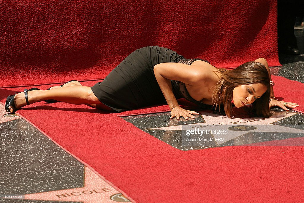 <a gi-track='captionPersonalityLinkClicked' href=/galleries/search?phrase=Halle+Berry&family=editorial&specificpeople=201726 ng-click='$event.stopPropagation()'>Halle Berry</a> during <a gi-track='captionPersonalityLinkClicked' href=/galleries/search?phrase=Halle+Berry&family=editorial&specificpeople=201726 ng-click='$event.stopPropagation()'>Halle Berry</a> Is Honored With A Star On The Hollywood Walk Of Fame at Hollywood Blvd. in Hollywood, California, United States.