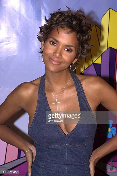 Halle Berry during Hallewoodcom Launch Party at Private Party in Burbank California United States