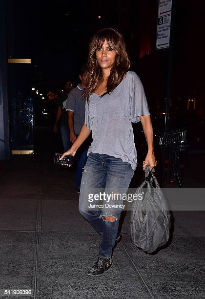 Halle Berry seen on the streets of Manhattan on June 20 2016 in New York City