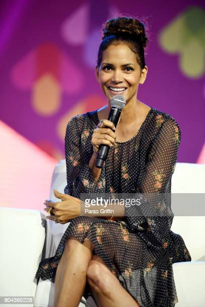 Halle Berry speaks onstage at the 2017 ESSENCE Festival presented by CocaCola at Ernest N Morial Convention Center on June 30 2017 in New Orleans...