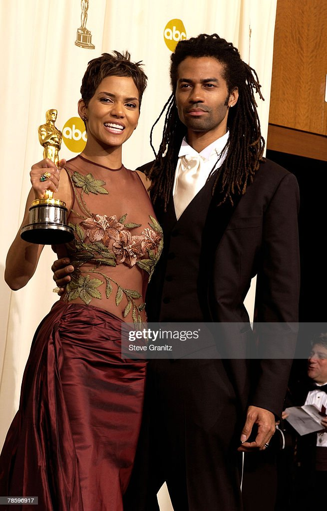 Halle Berry, winner of the Actress in a Leading Role award, and her husband Eric Benet