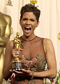 Halle Berry winner of the Actress in a Leading Role award