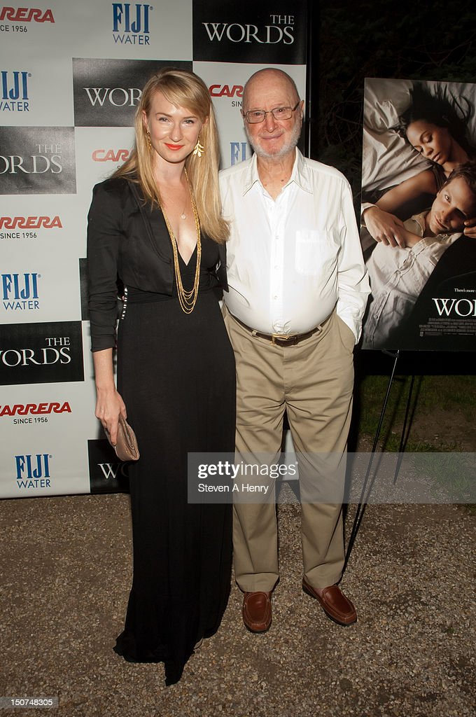 <a gi-track='captionPersonalityLinkClicked' href=/galleries/search?phrase=Halley+Feiffer&family=editorial&specificpeople=2083909 ng-click='$event.stopPropagation()'>Halley Feiffer</a> and <a gi-track='captionPersonalityLinkClicked' href=/galleries/search?phrase=Jules+Feiffer+-+Cartoonist&family=editorial&specificpeople=1000391 ng-click='$event.stopPropagation()'>Jules Feiffer</a> attend 'The Words' screening at Goose Creek on August 25, 2012 in East Hampton, New York.