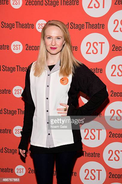 Halley Feiffer attends 2014 Second Stage Theatre's AllStar Bowling Classic fundraiser at Lucky Strike Lanes Lounge on February 3 2014 in New York City